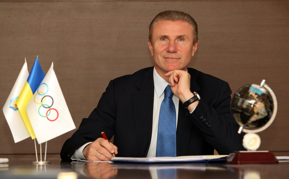 SUPPORTING IOC MEMBER SERGEY BUBKA