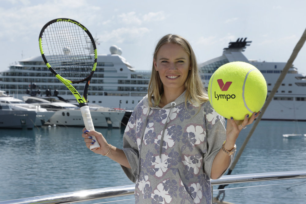 LAUNCHING A GLOBAL PARTNERSHIP WITH LYMPO AND CAROLINE WOZNIACKI
