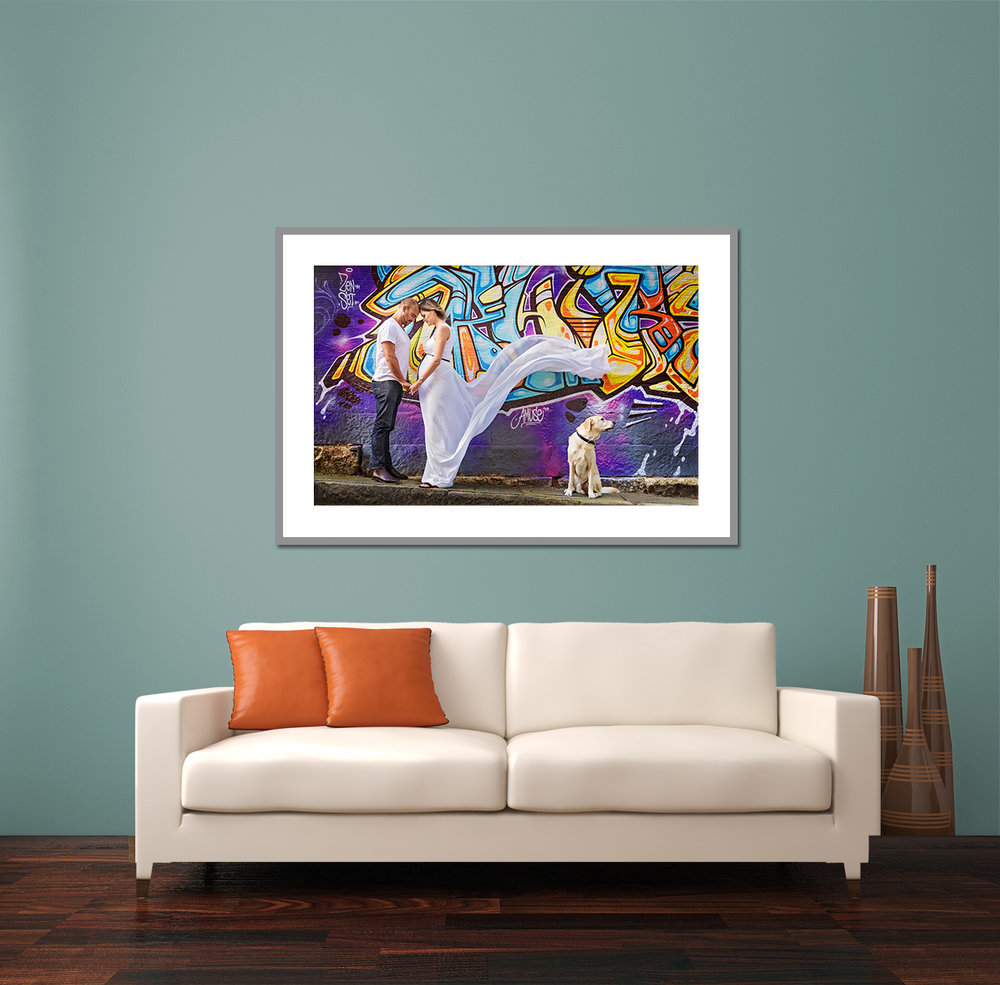 "Custom Framed 50x30"" Fine Art Print"
