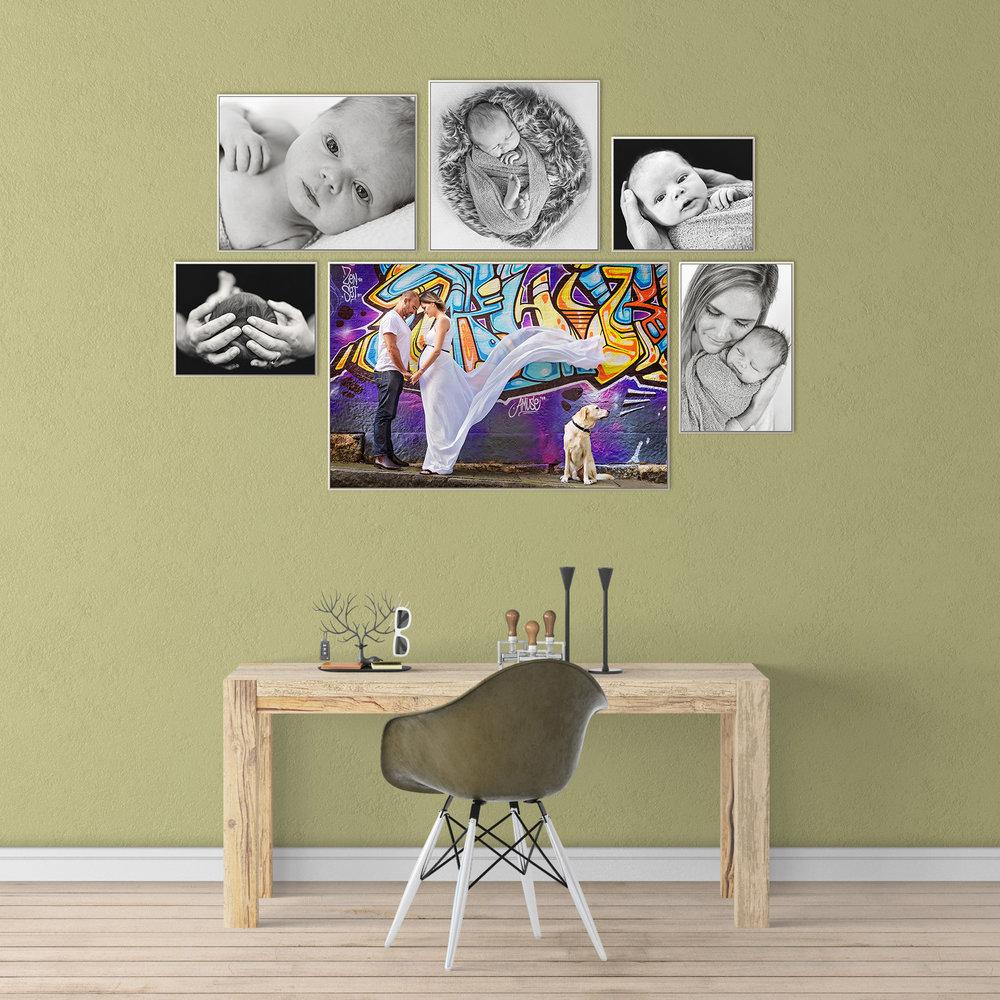 Framed Package | Gallery of 6