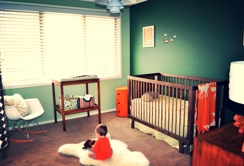 designer baby room nursery