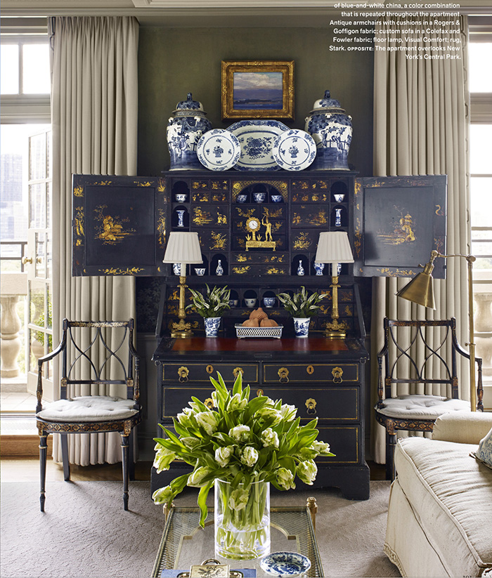 New York Apartment By Dallas Interior Designer Cathy Kincaid And