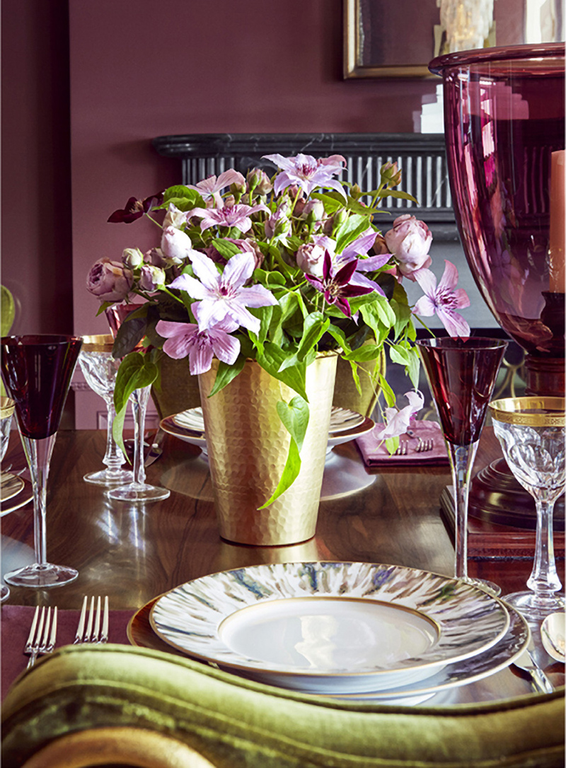 Sophisticated tabletop by Celerie Kemble.