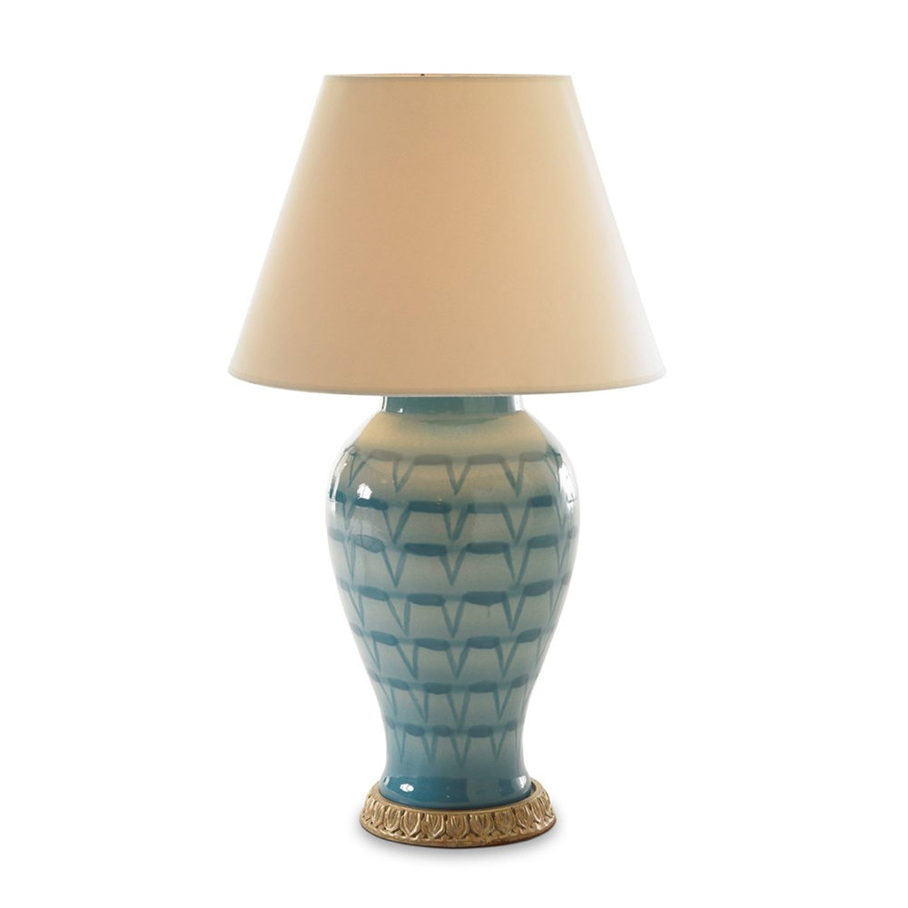 bunny williams turquoise feather lamp okl.jpg
