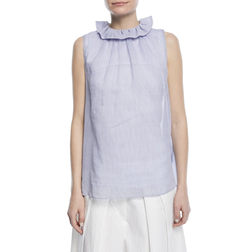 blue sleeveless ruffle neck nm.jpg