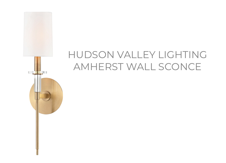 Hudson Valley Lighting Amherst Wall Sconce
