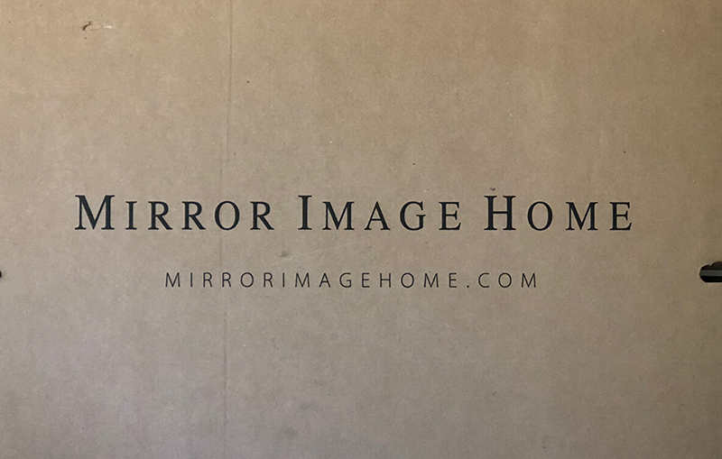 Mirror Image Home packaging