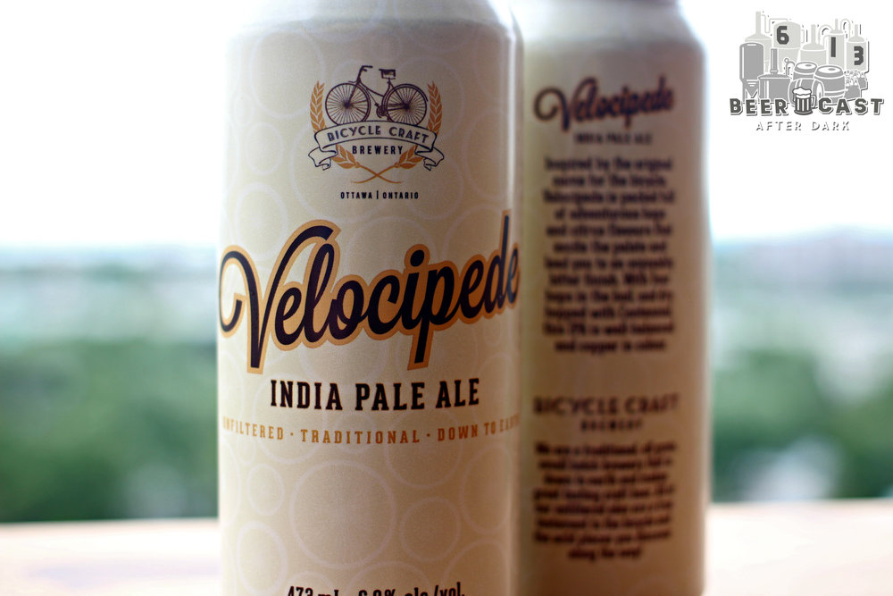 Velocipede IPA from Bicycle Craft Brewery