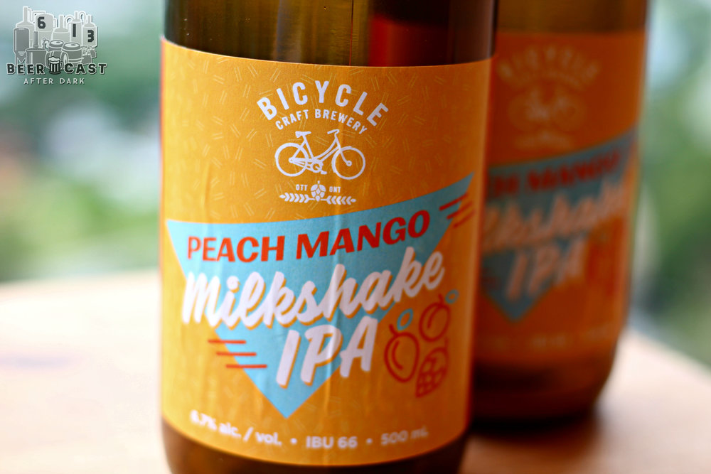 Peach Mango Milkshake IPA from Bicycle Craft Brewery