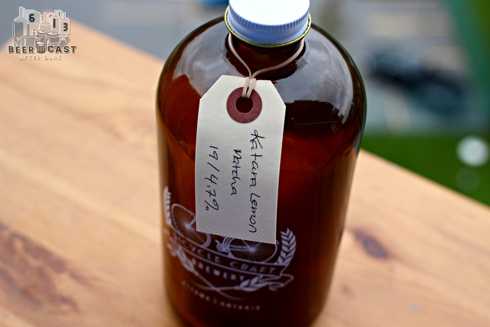 Katana Lemon Matcha from Bicycle Craft Brewery