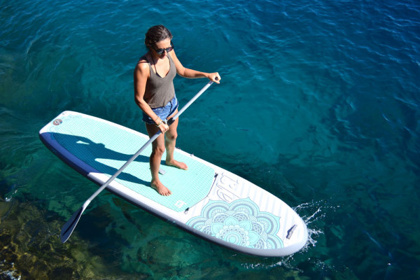 Womens Yoga 10 4 Inflatable SUP   Nationwide Free Shipping to your  Doorstep   129dac988d