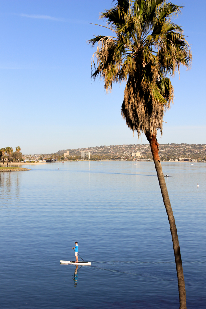 Mission Bay Paddle Board Rental