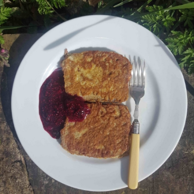 gluten free cinnamon French toast.....happy days