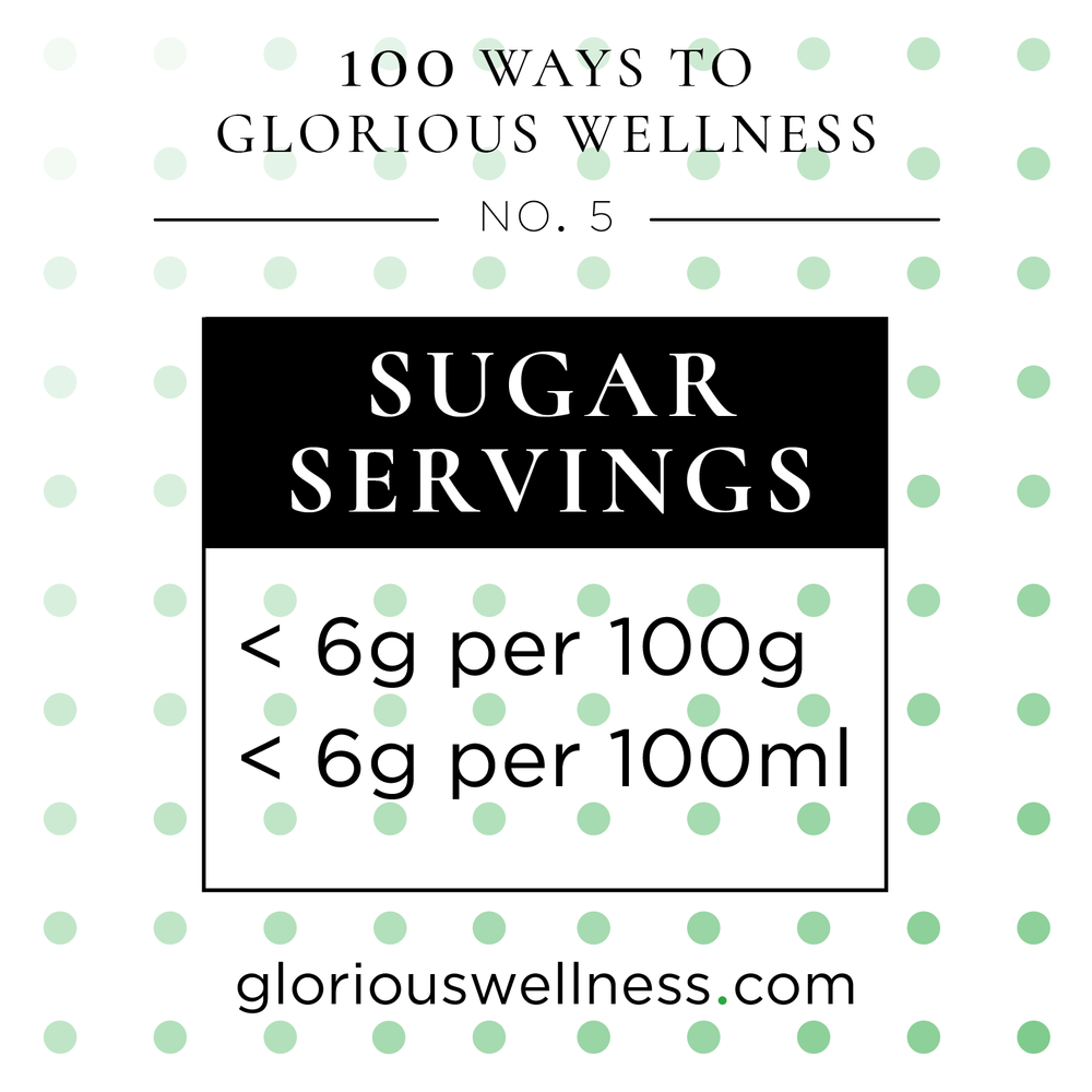 No. 5 - Sugar Servings: 6 Is The Number