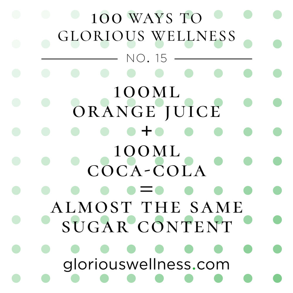 Orange Juice and Coca-Cola 100 Ways to Glorious Wellness Number Fifteen - Health Coach to High Flyers.png