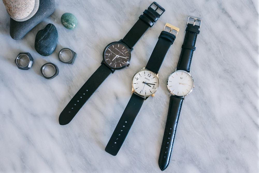 Featuring three minimalist watch brands  -    Breda ,    Christian Paul ,   and  Wanderlust