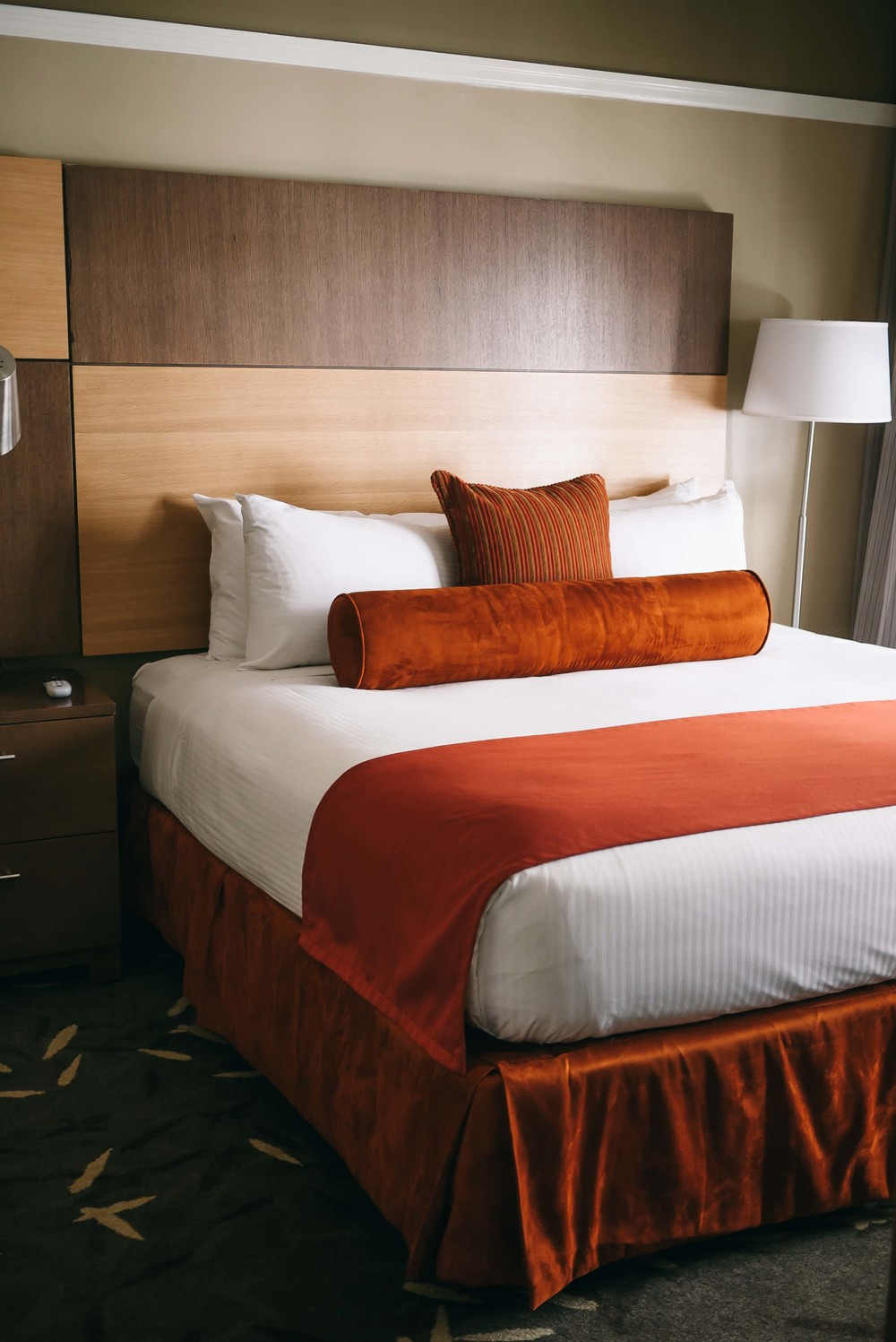 This queen-sized bed in our  Urban Suite  had us sleeping like babies. It was  that  comfortable.