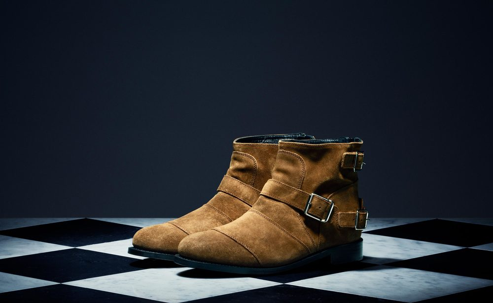 Camel Suede Boots - $199