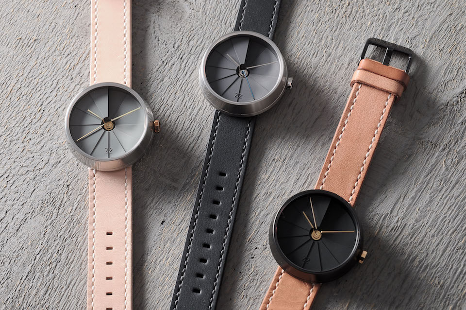 Men's Minimal 4th Dimension Watch by 22 Design Studio