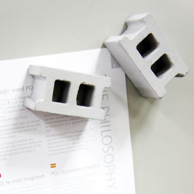 Concrete Block Magnet