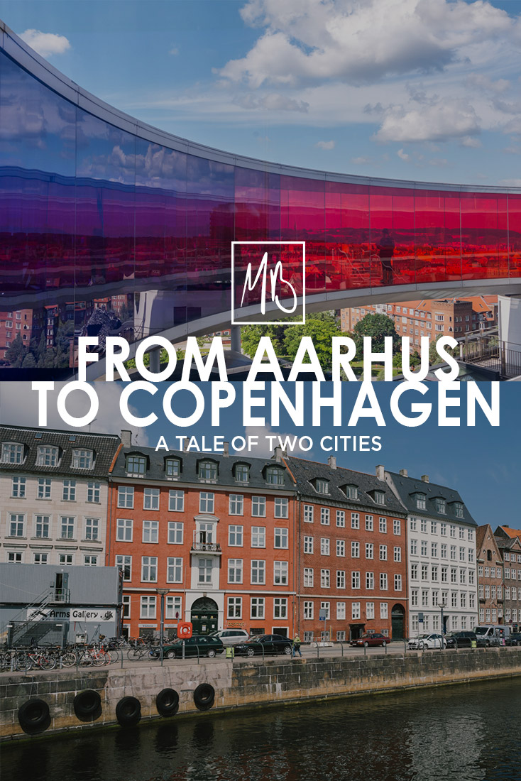 An intimate guided tour through the two, wondrous cities of Denmark: Aarhus and Copenhagen