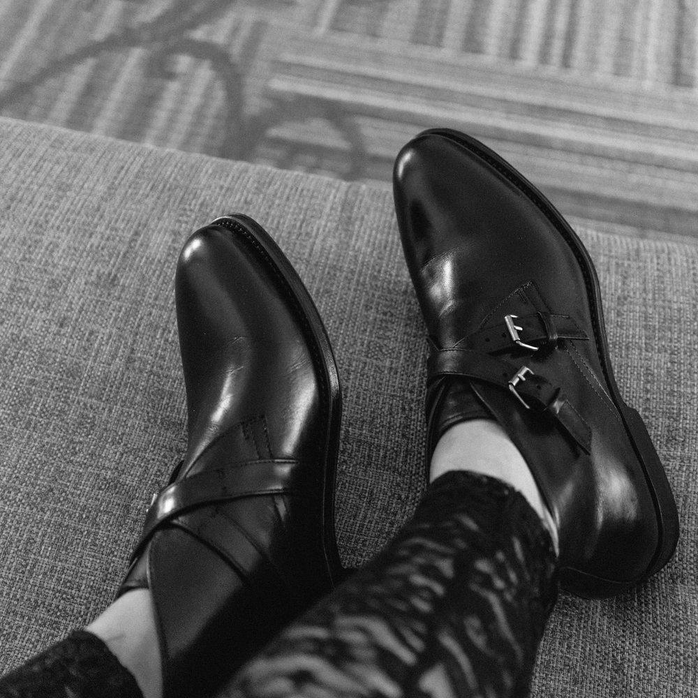 Aquatalia Vaugh leather-weather proof chukka boots