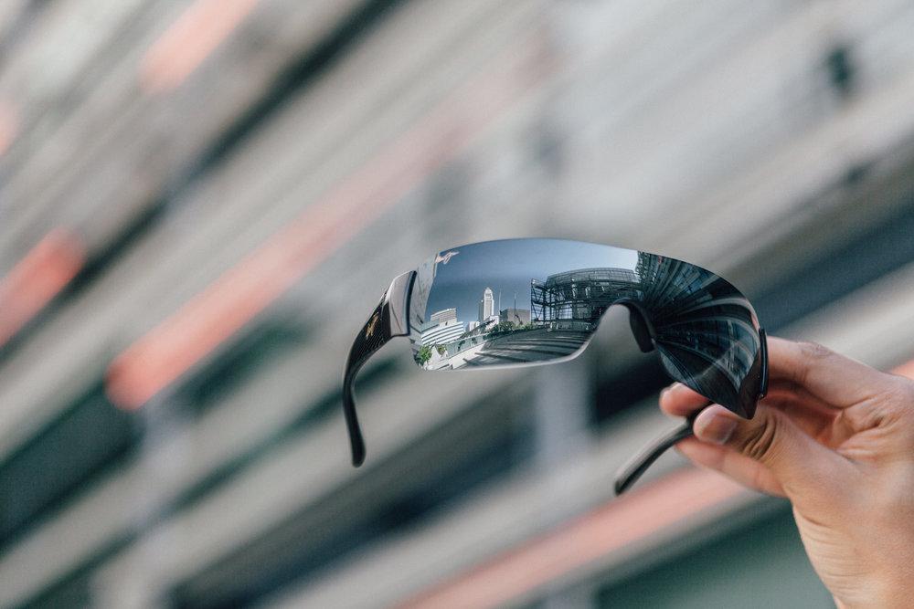 Reflective vibes on fleek via   Maui Jim sunglasses