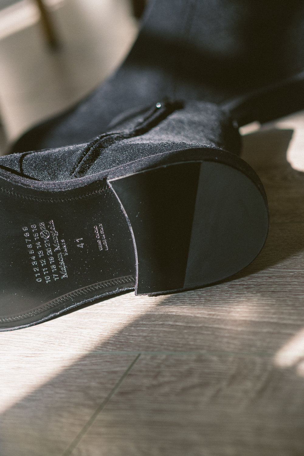 An alternative. - Classic but still stylishly suede.