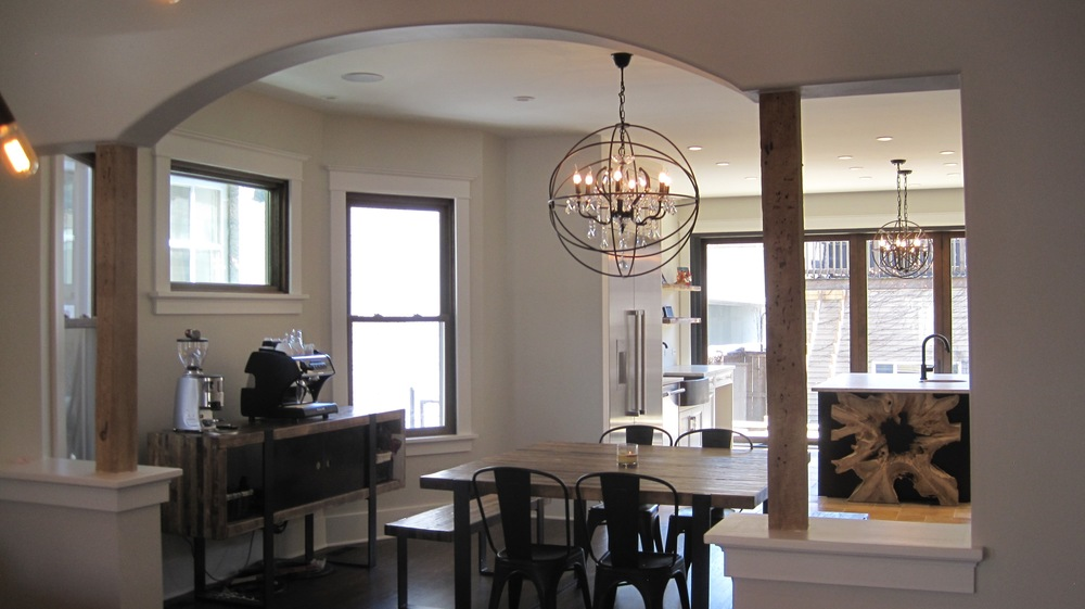 Lake View - Residential renovation with New Kitchen Addition