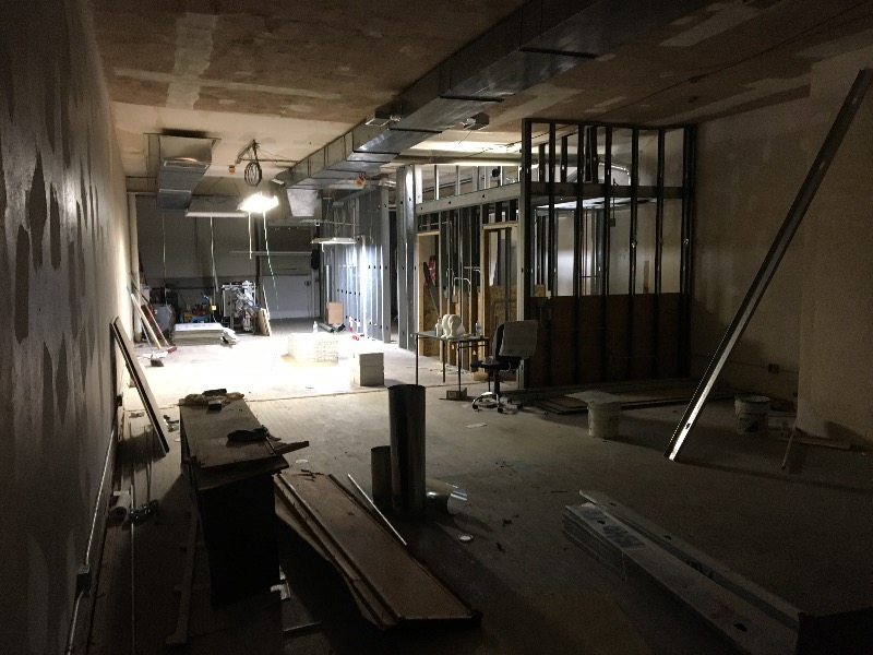 Commercial renovation and Build-out. Highland Park  Architecture   Construction