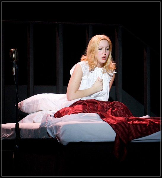 Evita am Amherst College. Foto © Sam Masinter