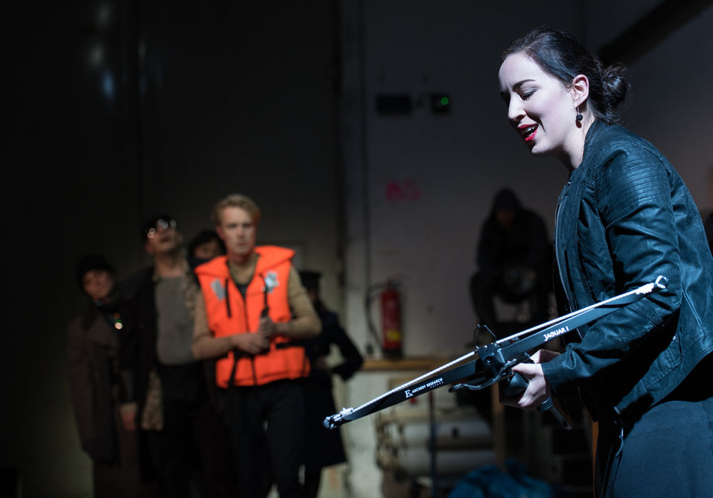 Ulisse an der Theaterakademie August Everding. Foto © Jean-Marc Turmes