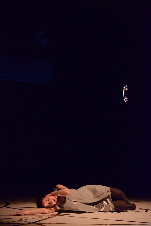 La voix humaine an der Theaterakademie Hamburg. Foto © Philip Artus