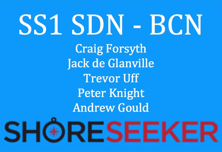 SS1 - Craig Forsyth, Jack de Glanville, Trevor Uff, Peter Knight, Andrew Gould