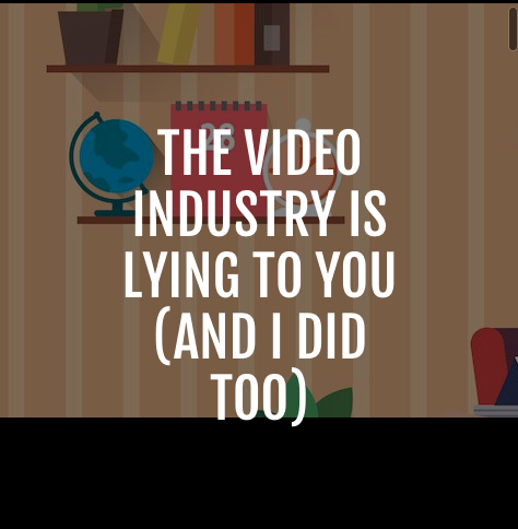 The Video Industry Is Lying To You (And I Did Too) - The morning light is long and golden as it illuminates the streets. I am standing outside a local tourism company waiting for my clients...