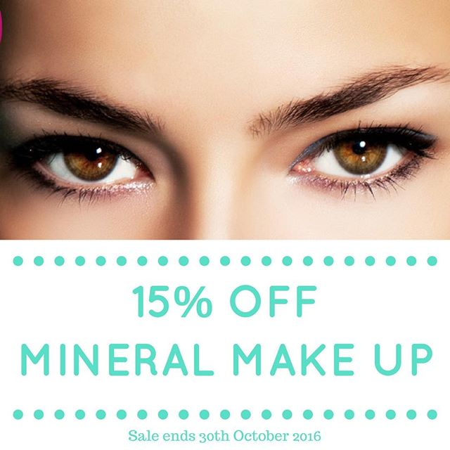 Last week to get 15% off Synergie Minerals and Osmosis Colour! 👄💕#beauty #makeup #mineralmakeup #vegan #natural