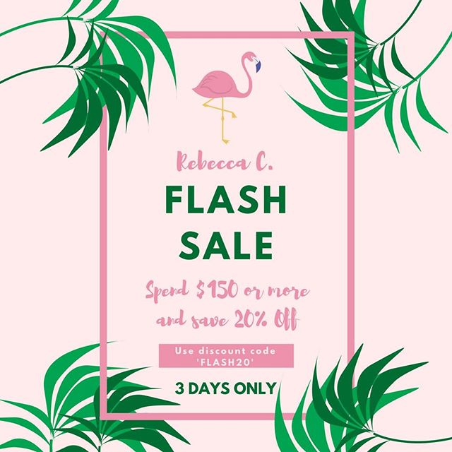 Save on all your skincare & make up with our Flash Sale for 3 days only!