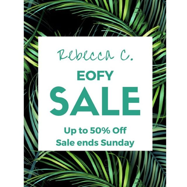 Up to 50% off EOFY SALE starts now! Sale ends midnight Sunday 25/6/17. #sale #skincare #makeup #vegan #natural #beauty #wellness