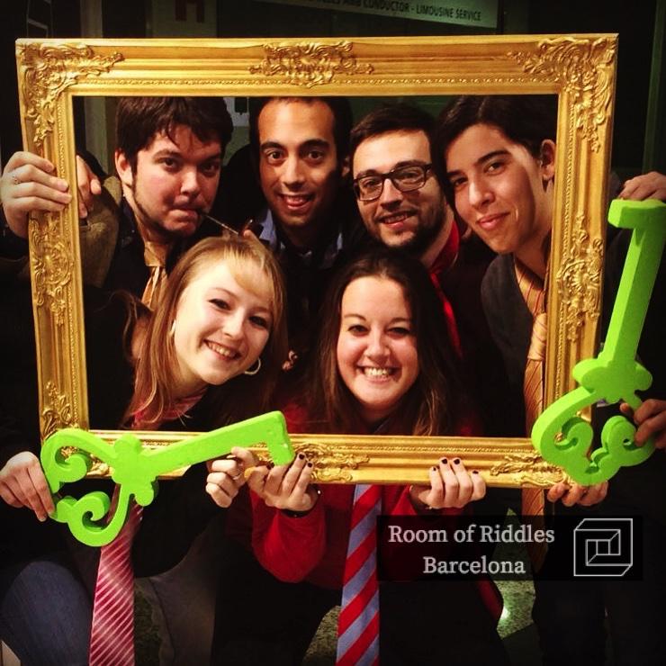 Grupos de amigos Escape Room Barcelona