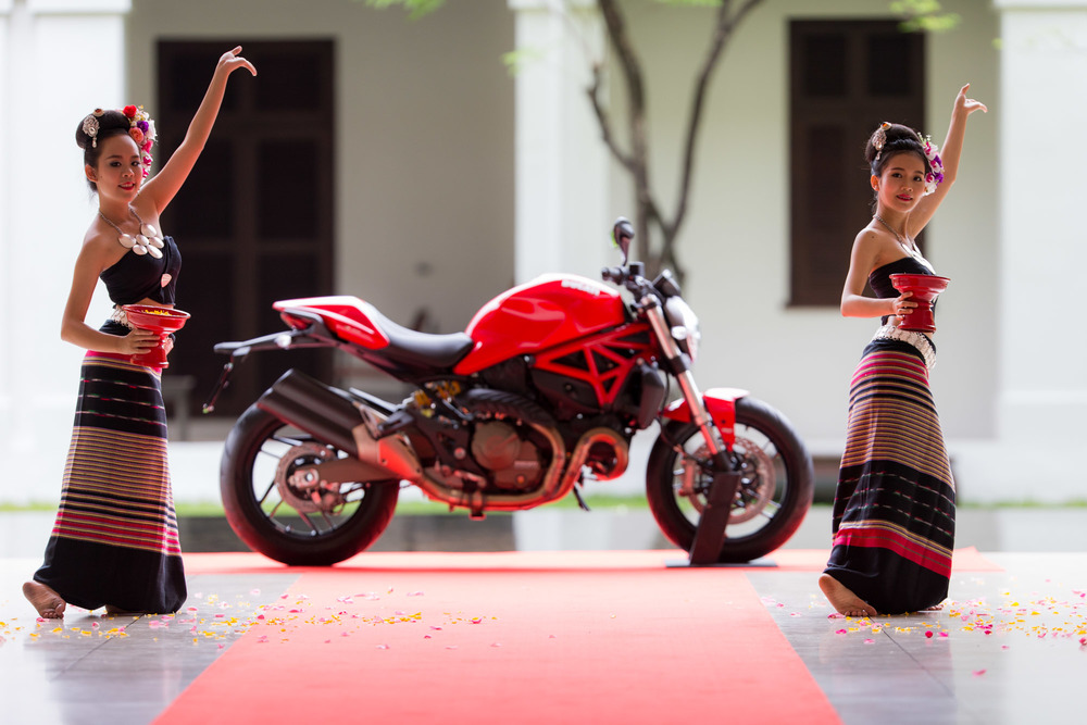 DUCATI MONSTER LAUNCH THAILAND