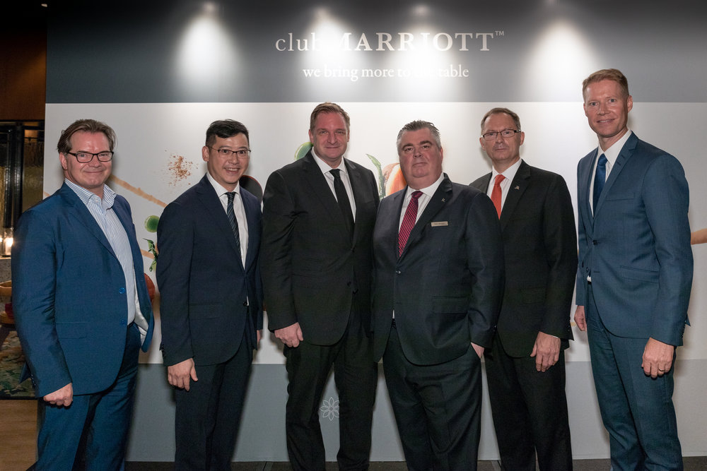 CLUB MARRIOTT INTERNATIONAL CLUB LAUNCH