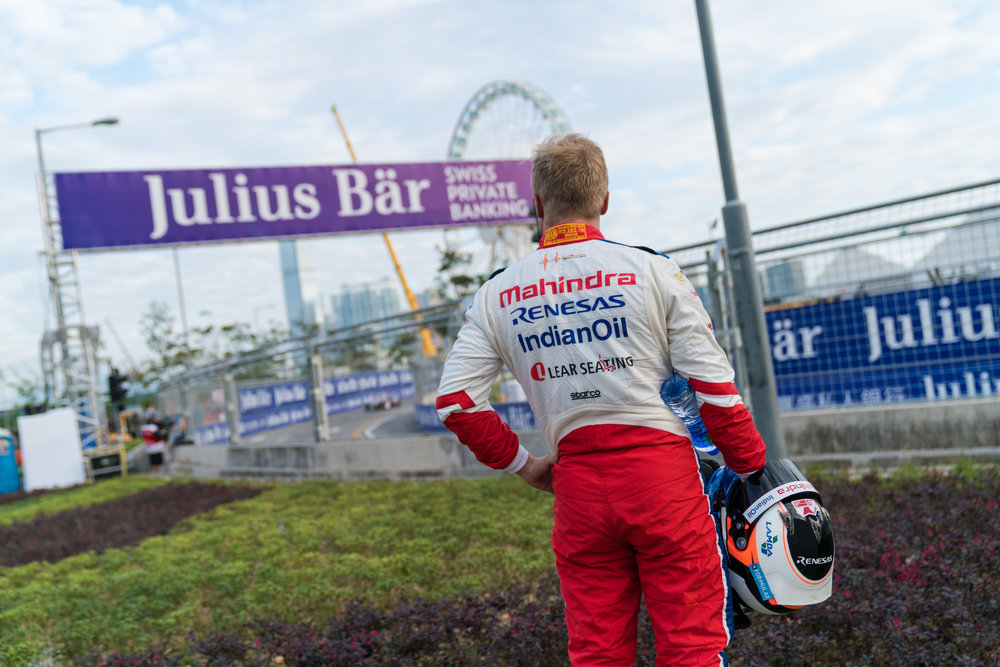 Mechanical issues forced Felix Rosenqvist to spectate in practice one.