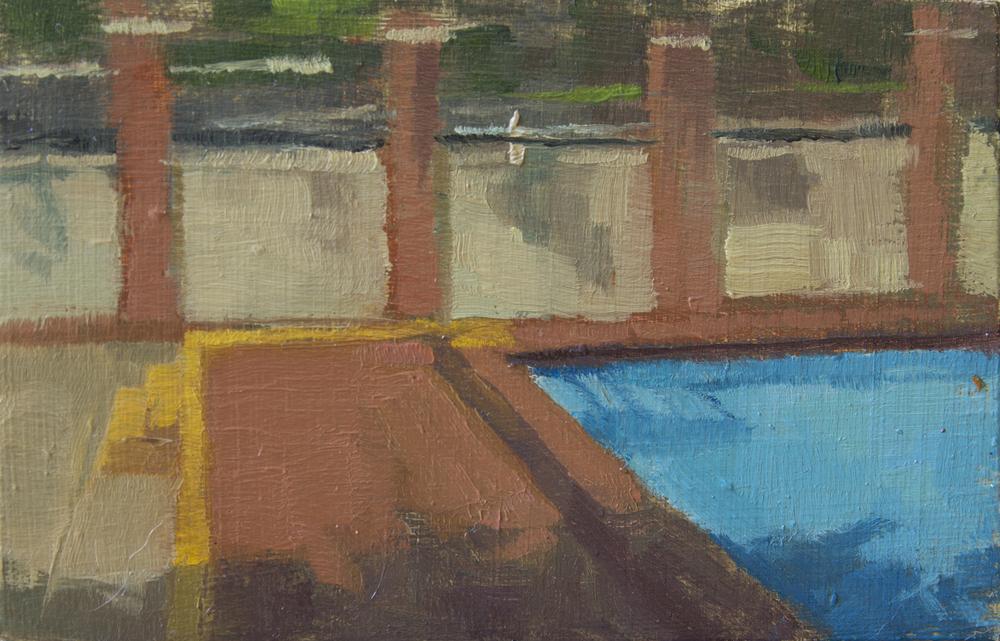 """TS 353, oil on panel, 3.25"""" x 2"""", 2015"""
