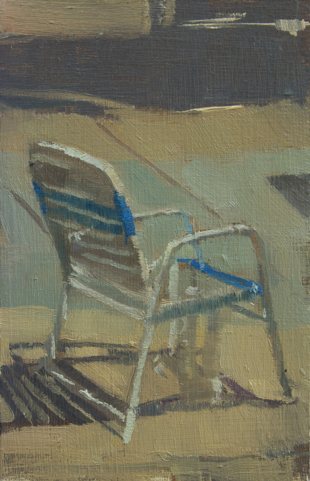 """TS 354, oil on panel, 3.25"""" x 2"""", 2015, Sold"""
