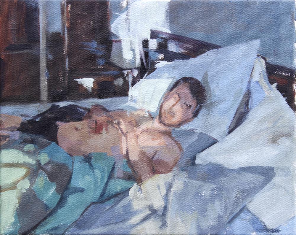 "Radical Simplicity, oil on canvas, 8"" x 10"", 2014"