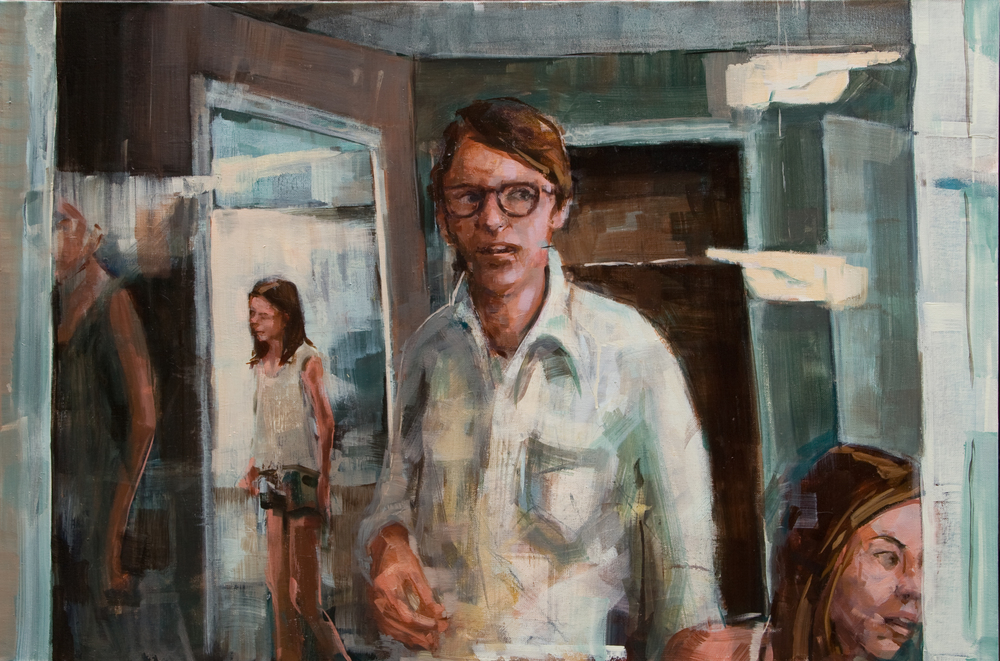 "We Could All Be 30, oil on canvas, 24"" x 36"", 2011-12"