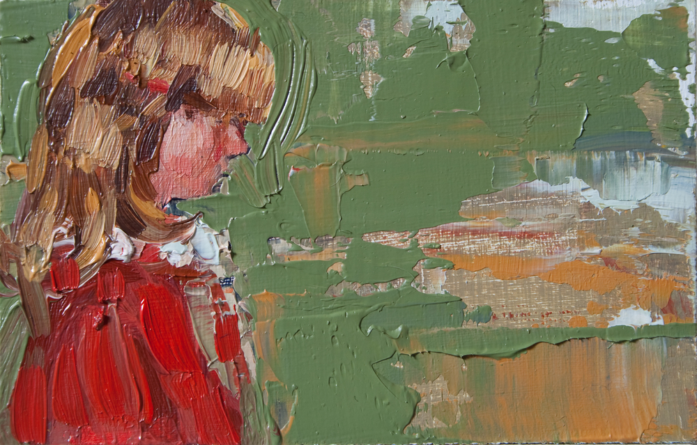 "TS 139, oil on panel, 2"" x 3.25"", 2011"
