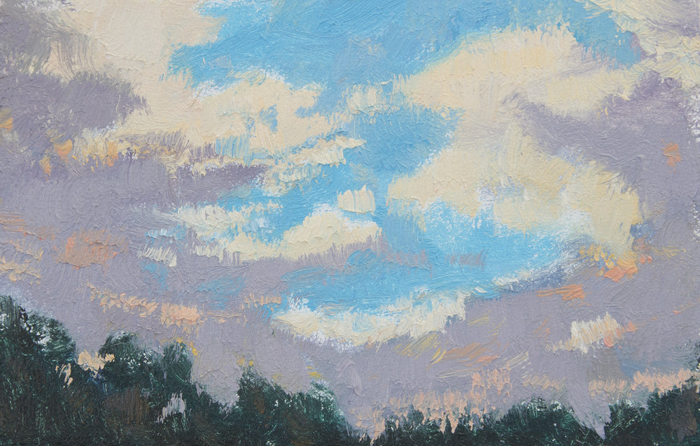 "TS 448, oil on panel, 2.2"" x 3.25"", 2016"