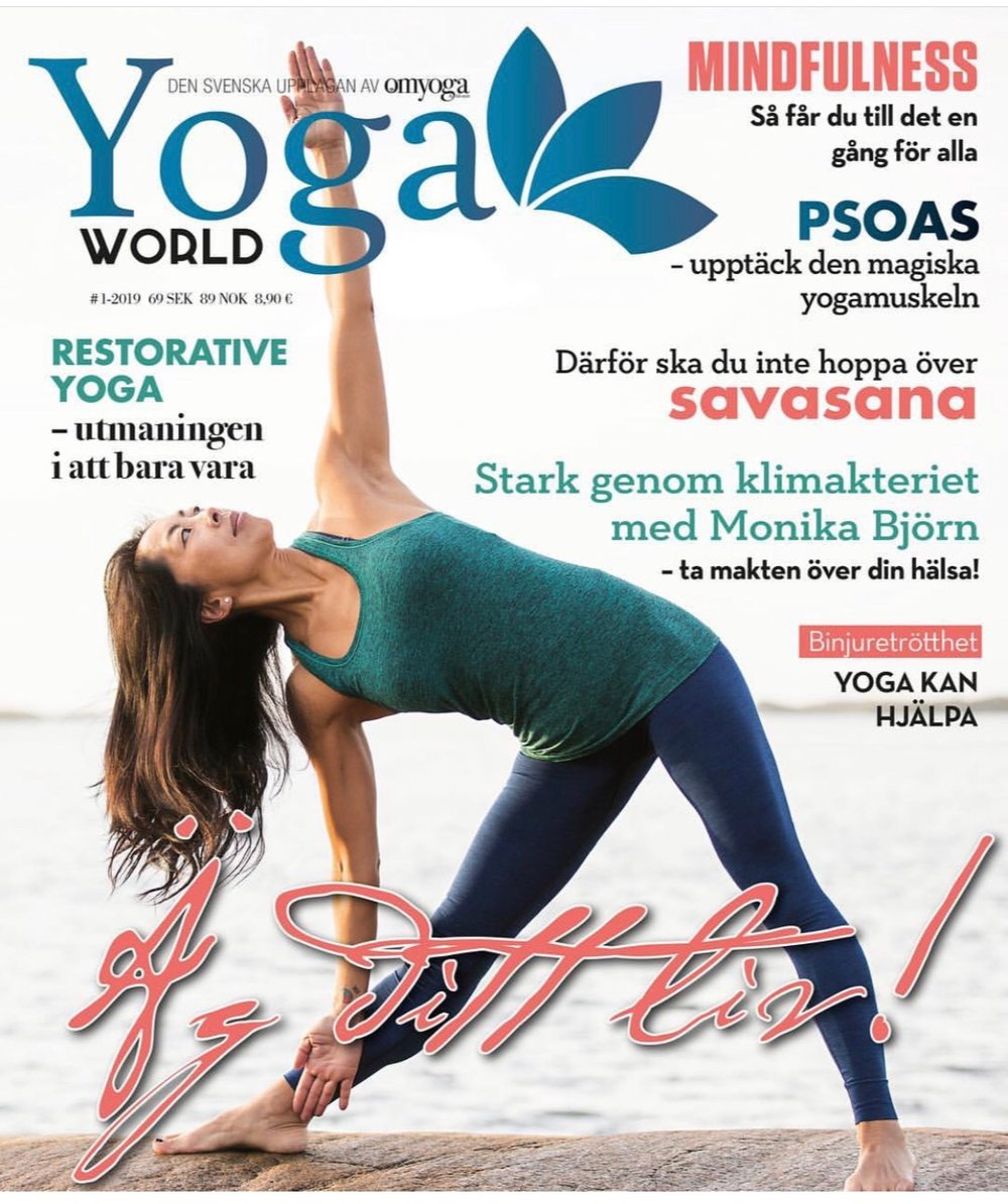 Yoga World, januari 2019