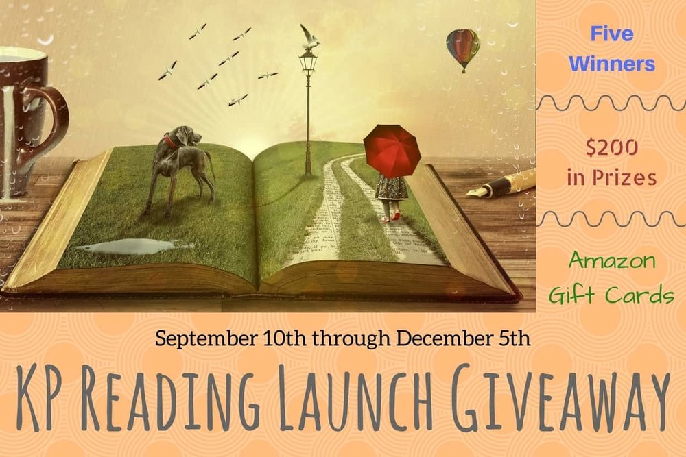 KP Reading Launch Giveaway